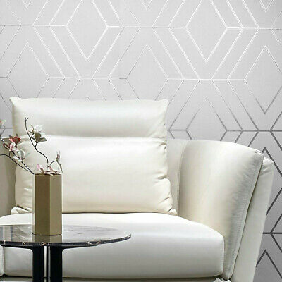 Modern embossed striped Wallpaper roll textured stripes ivory gold gray metallic