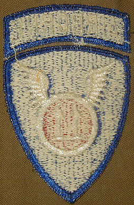 Original 1950's 11th Airborne Division patch Paratrooper - German Made
