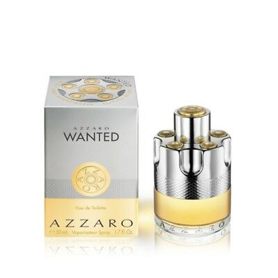 Azzaro Wanted 50ml EDT (M) SP Mens100% Genuine (New)