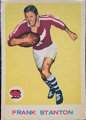 Frank Stanton 1964 Scanlens Rugby League Card