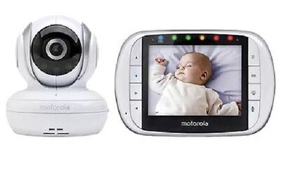 "Motorola MBP36S Remote Digital Video Baby Monitor 3.5"" Color LCD Sealed NEW"