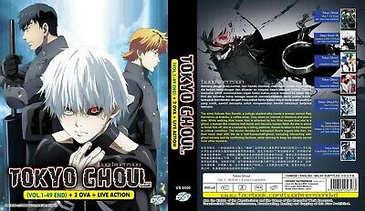ANIME DVD~ENGLISH DUBBED~Tokyo Ghoul+Re Complete Box(1-49End)FREE SHIPPING+GIFT