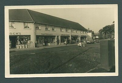 A Vintage postcard - Canterbury's,Caerphilly Crossroads, WALES