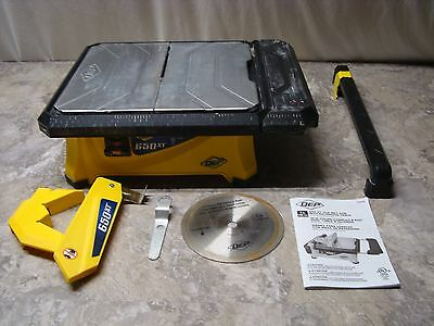 QEP 3/4 HP Wet Tile Saw with 7 in. Diamond Blade #23