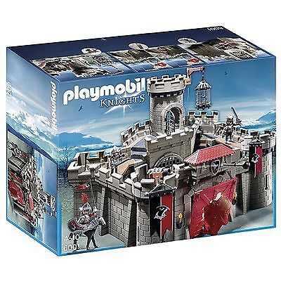 New Playmobil 6001 Hawk Knight's Castle Order of the Falcon Knights 188 Pieces