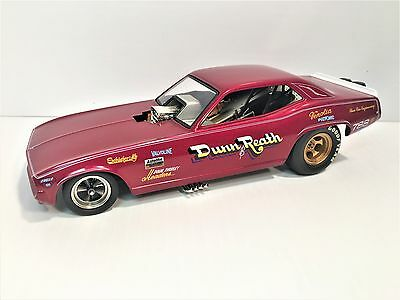 1320 Floppers Dunn & Reath Plymouth Funny Car L E 1:24 Diecast Boxed