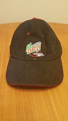 Mountain Dew Code Red Hat with Strap Advertising Unique Cap Baseball style