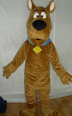 scooby-doo dog brown character Mascot Costume cosplay Adult Suit fancy dress