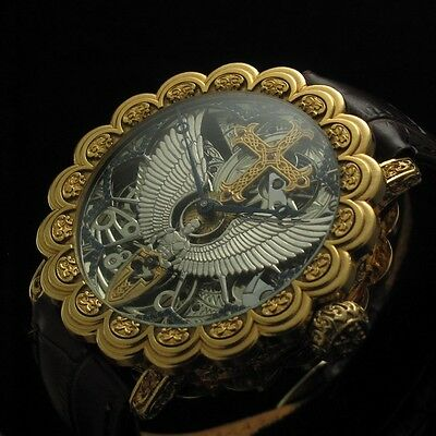 ANTIQUE MIRACLE!!! Mens Vintage SKELETON Watch from PATEK, PHILIPPE & Co. - 1886