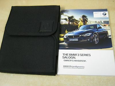 Bmw 3 Series 2014-2016 Owners Manual Handbook  And Wallet Inc I Drive