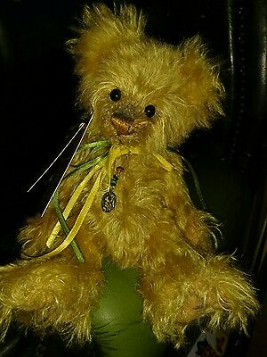Charlie Bears Wilhelmina Isabelle Collection Mohair - Tag Signed By Charlie