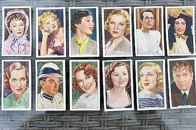 Gallaher - My Favourite Part - 1939 Part Set Of 12 Cards - Very Good Condition