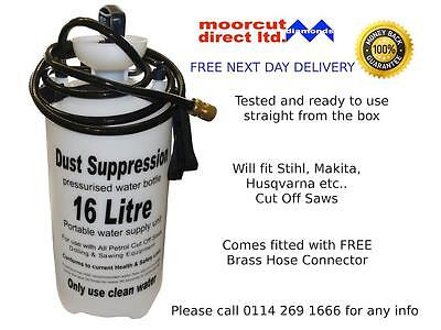Dust Suppression Water Bottle 16L with Brass Connector fits STIHL PARTNER Saws