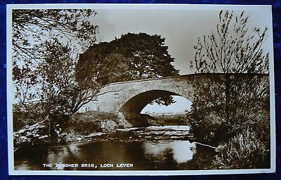 "Photo postcard of ""The Burgher Bridge, Loch Leven"" by Milnathort and Kinross."