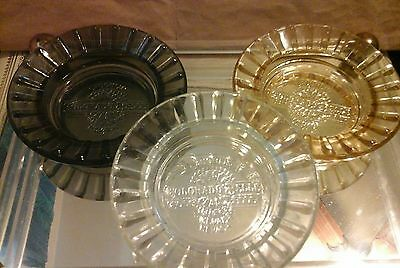 3 Casino AD ASHTRAYS  COLORADO BELLE LAUGHLIN NEVADA,
