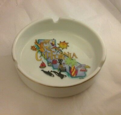 1 CALIFORNIA ashtray preowned USED