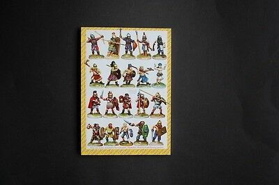 Wargames Foundry Miniatures vintage catalogue date unknown