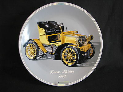 Lusa Exclusiv Porcelain Wall Plate Benz Spider 1902 (Limited Edition 1981) (JS)
