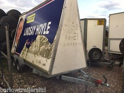 Used Towmaster - Adversiting A-Board trailer - twin axle