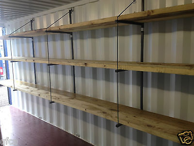 Shipping Container Shelving Bracket - Stronger Faster Easier