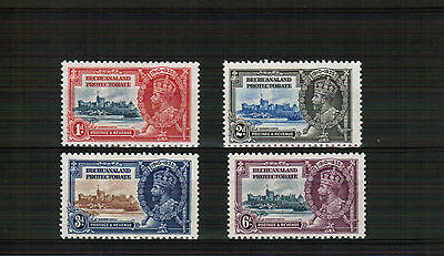 1935 Bechuanaland Protectorate Silver Jubilee set mounted mint