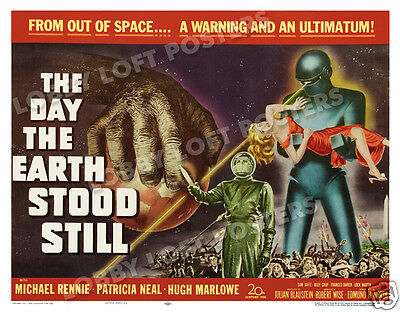 The Day The Earth Stood Still Lobby Card Poster Hs 1951