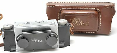 Stereo Realist Camera with F/3.5 David White Lenses & Leather Case