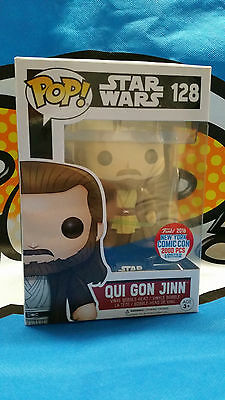 Funko POP - Qui Gon Jinn - Star Wars - NYCC 2016 Exclusive auf 2000 Limitiert