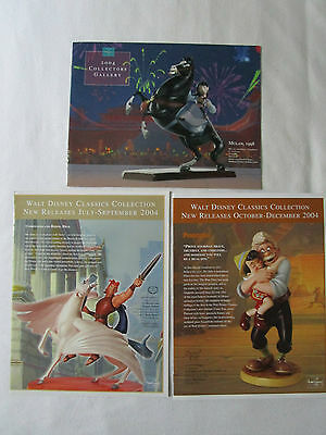 WDCC Set with 3 booklets from 2004