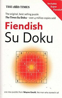 Xtimes Su Doku Fiendish Bkp by Gould  Wayne Book The Cheap Fast Free Post