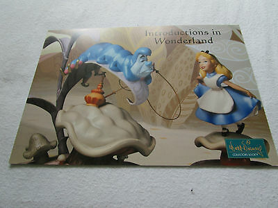 WDCC Alice In Wonderland Promocard 2003