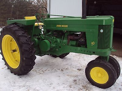 Antique John Deere 1953 '70' Sn-700133 Owner Rebuild Restore Many New Items