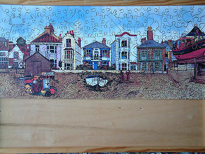 Wentworth WOODEN JIGSAW PUZZLE 250 pieces Aldeburgh Lifeboat Victoria Elbroch
