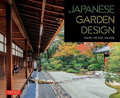 Japanese Garden Design by Marc Peter Keane Paperback Book Free Shipping!