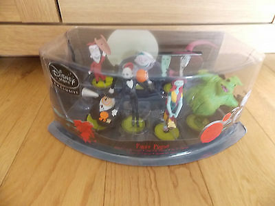Disney Store Exclusive The Nightmare Before Christmas Figure Playset Unopened