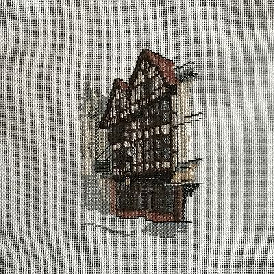 Completed Cross Stitch Picture - The GOD-BEGOT, Winchester