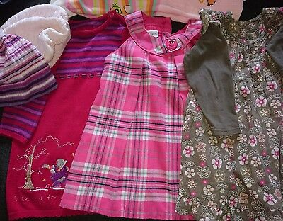 Huge bundle 9-18 months girls clothes some bn 29 Items