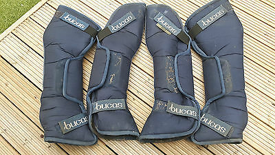 Bucas Max Navy Travel Boots - used only once F/S