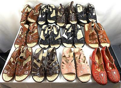 Job Lot Womens Shoes Sandals Various Colours Styles Sizes 3-8 28 Pairs All New