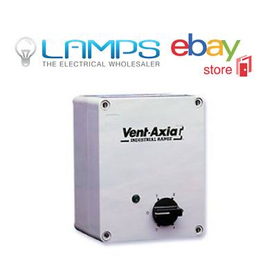 Vent Axia 10314107 5 Step Auto 7.5Amp Controller