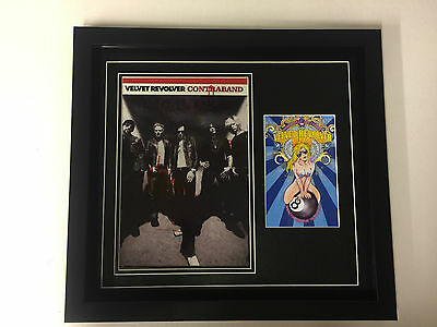 Velvet Revolver Hand Signed/Autographed  Poster with a card and COA