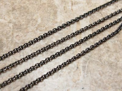 Vintage Sterling Silver 925 Chain Necklace 16 Inches Long