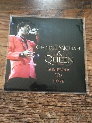 "❤️SUPER RARE FAN CLUB 7""❤️ Somebody To Love-George Michael (Queen/Wham!) MINT"