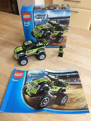 Lego City 60055 Monster Truck In Box With Instructions And Figure.