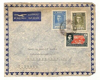 WW139 Middle East c1919 Germany Air Mail Cover {samwells-covers}PTS