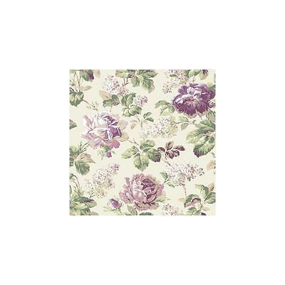 Off White FD8498 Rose Floral Wallpaper 33 foot roll X 20.5 inches !!