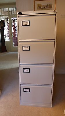 Four Draw Filing Cabinet by Triumph