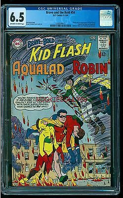 Cgc 6.5 Brave And The Bold #54 Dc Comics 1964 1St Appearance Of Teen Titans Rare