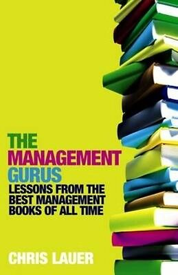 The Management Gurus by Chris Lauer Paperback Book