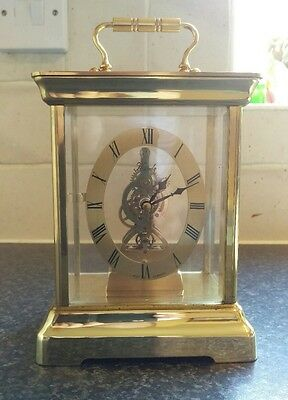 kundo, electronic mantel, clock, West Germany, WORKING, great condition. vintage